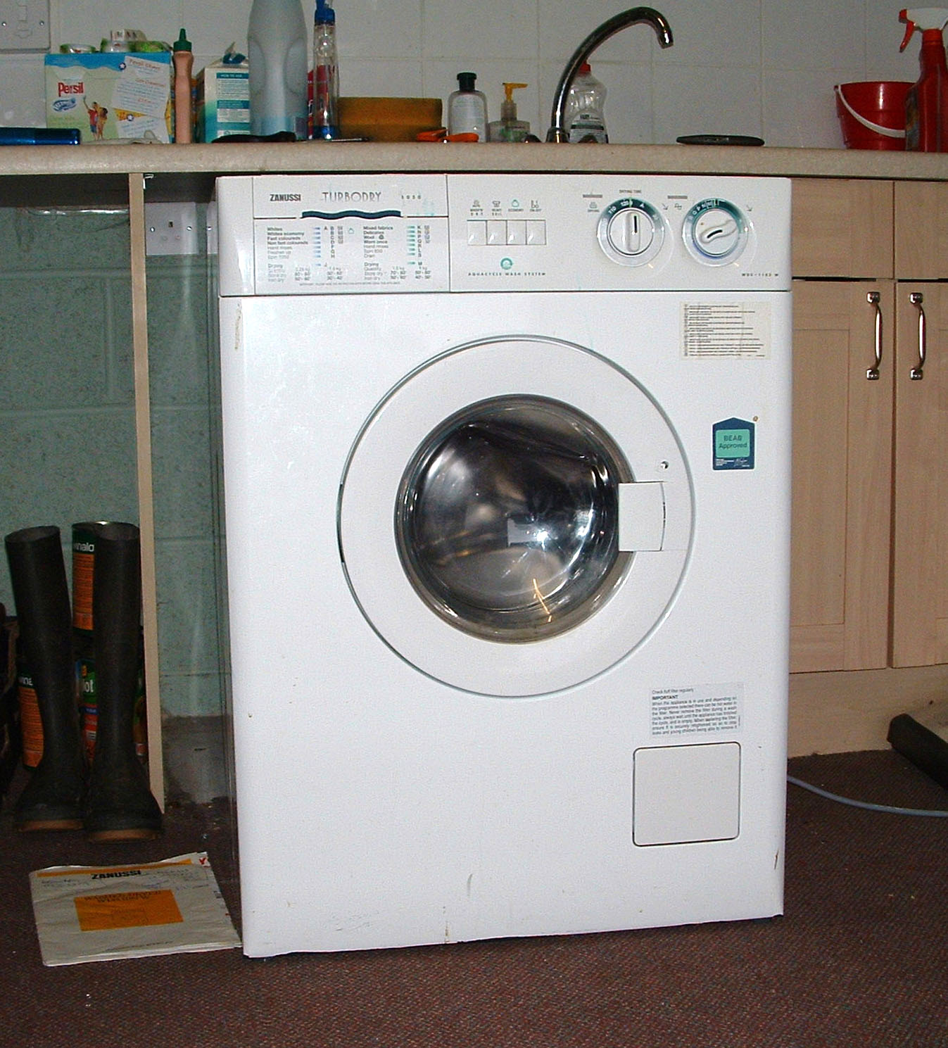 Images of Zanussi Washing Machine. User Manual Dishwasher